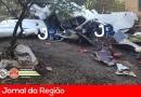 Avião cai na Estrada Campo Limpo a Atibaia