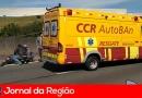 Motociclista sofre acidente grave na Anhanguera