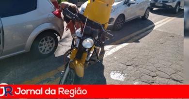 Motoboy sofre acidente