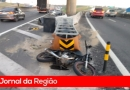 Motos batem no Trevo da Anhanguera
