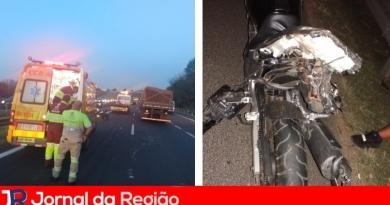 Caminhão passa sobre motociclista na Dom Gabriel