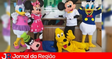 Personagens da Disney no H.U.