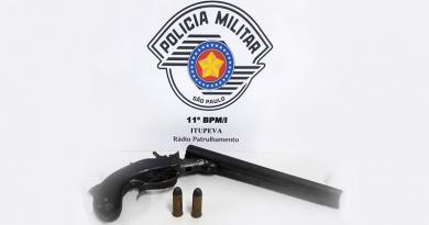 Morador de Itupeva flagrado com arma