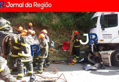 Detran realiza simulações de resgate em Jundiaí
