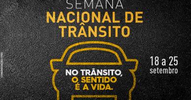 Ações marcam Semana Nacional de Trânsito