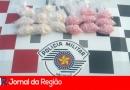 PM apreende R$ 15 mil em drogas