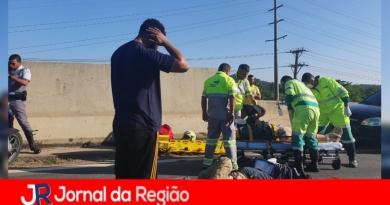 Acidente deixa dois feridos na João Cereser