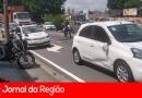 Motociclista sofre acidente grave