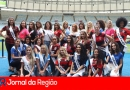 Candidatas a Miss Generation conhecem o Maracanã