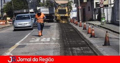 Vila Arens tem rua recapeada no final de semana