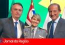 Bolsonaro recebe comandante da PM de Jundiaí
