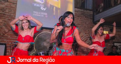 Gretchen canta em São Paulo