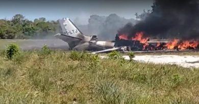 Avião que saiu de Jundiaí caiu na Bahia
