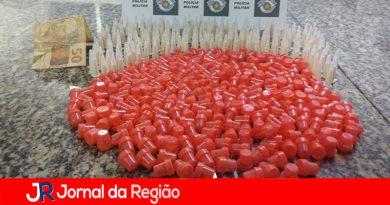 Polícia Militar apreende drogas em Itupeva