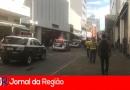 PM prende ladrões tentando levar R$ 50 mil da Casas Bahia