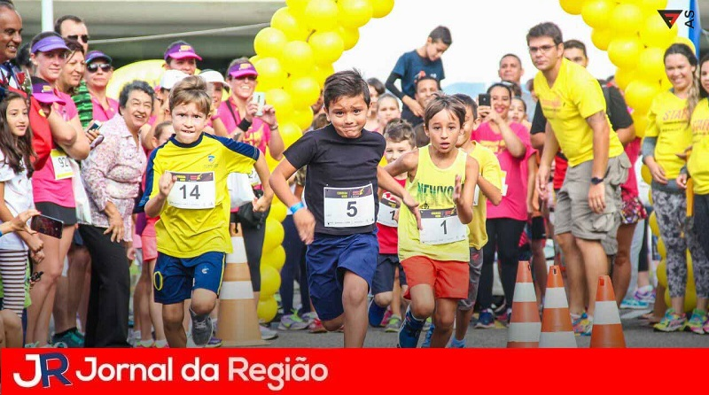 Itatiba realiza 1ª Corrida Kids - JORNAL DA REGIÃO - JUNDIAÍ