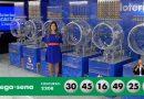 Ninguém acerta as seis dezenas e prêmio da Mega-Sena vai a R$ 13,5 milhões