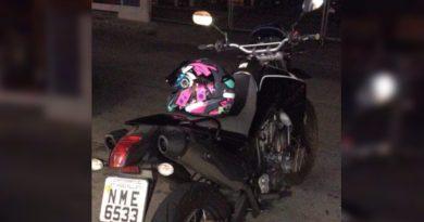 Moto roubada no Ivoturucaia