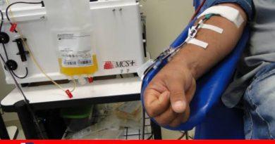 Mauresete precisa de doações de plaquetas