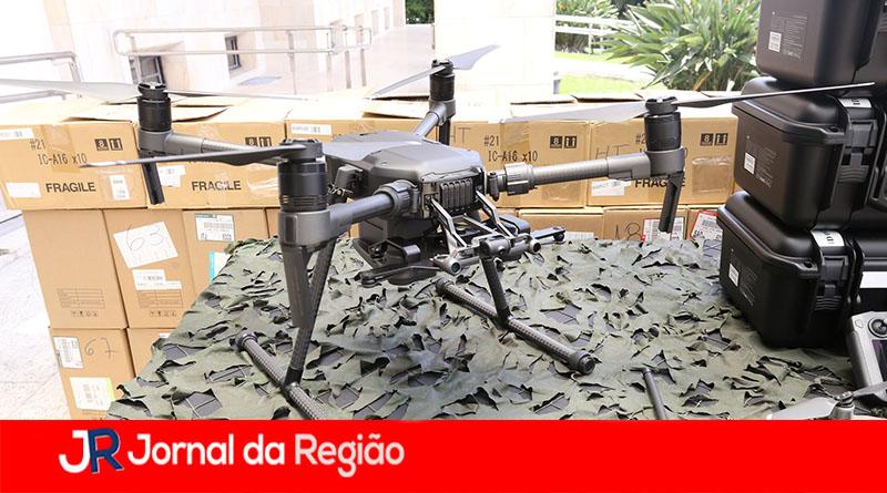 PM passa usar drones para combater o crime