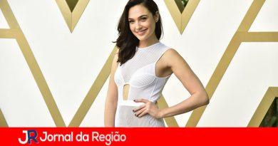 """""""Mulher Maravilha"""" visita o Brasil"""