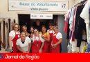 Voluntários do São Vicente fazem bazar